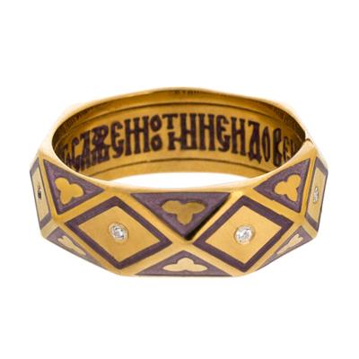 Серебряное кольцо Ювелирное изделие S_03.037.5.1 отсутствует псалтирь пророка и царя давида