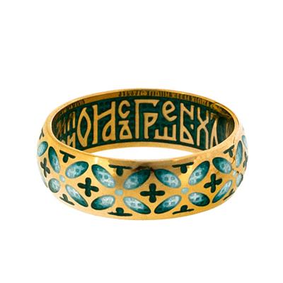 Серебряное кольцо Ювелирное изделие ZW_353.17 сборник святый княже александре моли бога о нас