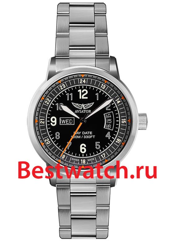 Наручные швейцарские часы Aviator Kingcobra V.1.17.0.106.5. Aviator Kingcobra V.1.17.0.106.5 Кварцевый механизм