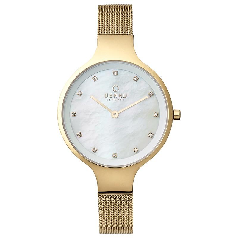 Часы Obaku V173LXGGMG - купить женские наручные часы