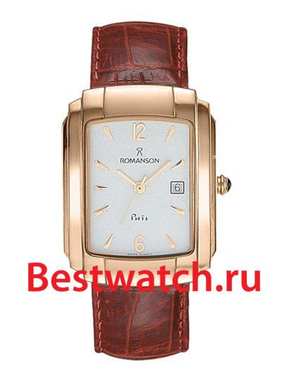 Часы Romanson TL1157SMR(WH) - купить мужские наручные часы