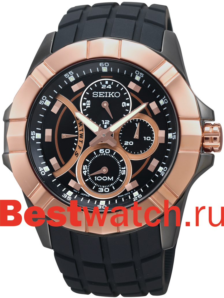 SEIKO SRX007J2 - Автокварцевые часы с полным