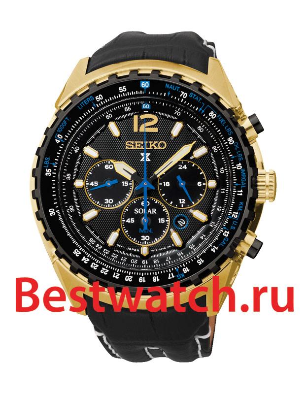 Часы Seiko SSC264P1 - купить мужские наручные часы
