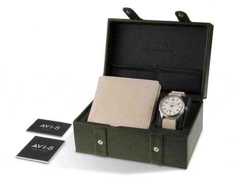 fashion наручные  мужские часы AVI-8 AV-SET2-02. Коллекци Flyboy