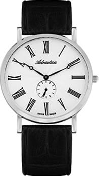 Швейцарские наручные мужские часы Adriatica 1113.5233Q. Коллекция Gents