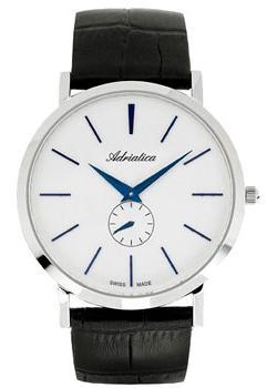 Швейцарские наручные мужские часы Adriatica 1113.52B3Q. Коллекция Gents