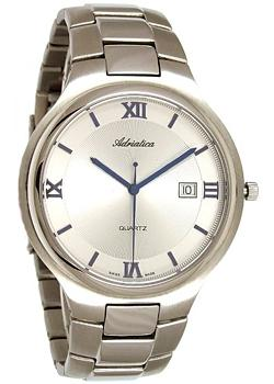 Швейцарские наручные мужские часы Adriatica 1114.51B3Q. Коллекция Gents