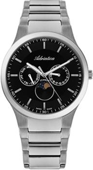 Купить Часы мужские Швейцарские наручные  мужские часы Adriatica 1145.4114QF. Коллекция Titanium  Швейцарские наручные  мужские часы Adriatica 1145.4114QF. Коллекция Titanium