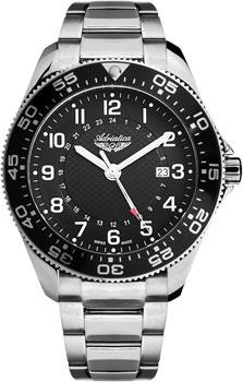 Швейцарские наручные мужские часы Adriatica 1147.5124Q. Коллекция Gents