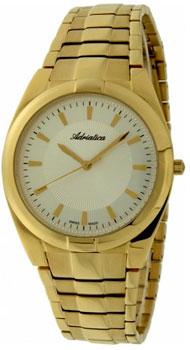 Швейцарские наручные мужские часы Adriatica 1173.1113Q. Коллекция Gents