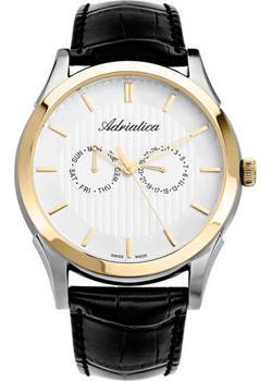 Швейцарские наручные  мужские часы Adriatica 1191.2213Q. Коллекция Multifunction от Bestwatch.ru