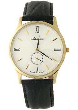 Швейцарские наручные мужские часы Adriatica 1230.1263Q. Коллекция Gents