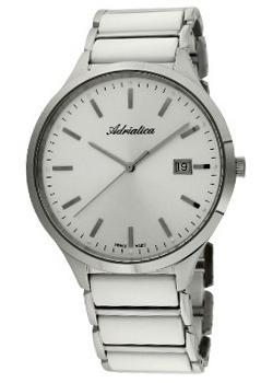 Купить Часы мужские Швейцарские наручные  мужские часы Adriatica 1249.C113Q. Коллекция Ceramic  Швейцарские наручные  мужские часы Adriatica 1249.C113Q. Коллекция Ceramic