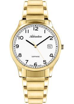 Швейцарские наручные мужские часы Adriatica 1267.1123Q. Коллекция Twin фото