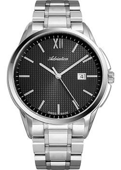 Швейцарские наручные мужские часы Adriatica 1290.5166Q. Коллекция Pairs фото