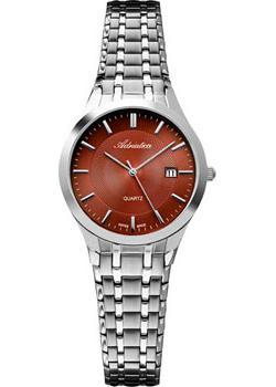 Швейцарские наручные  женские часы Adriatica 3136.511GQ. Коллекция Twin