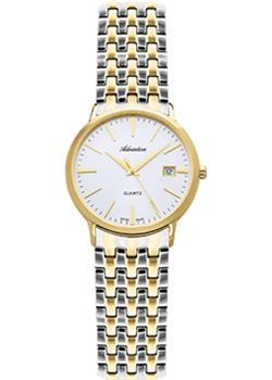 Швейцарские наручные  женские часы Adriatica 3143.2113Q. Коллекция Twin