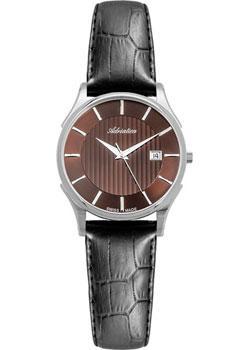 Швейцарские наручные  женские часы Adriatica 3146.521GQ. Коллекция Twin