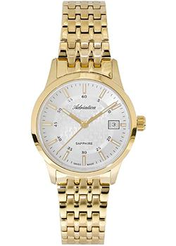 Швейцарские наручные  женские часы Adriatica 3156.1113Q. Коллекция Twin