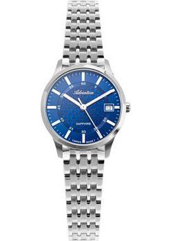 Швейцарские наручные  женские часы Adriatica 3156.5115Q. Коллекция Twin