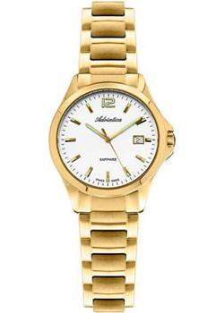Швейцарские наручные  женские часы Adriatica 3164.1153Q. Коллекция Twin