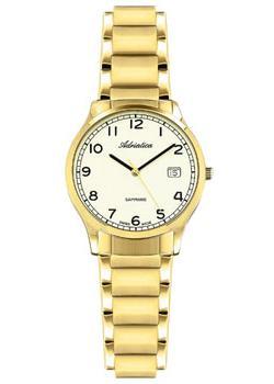 Швейцарские наручные  женские часы Adriatica 3167.1121Q. Коллекция Twin