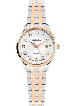 Швейцарские наручные  женские часы Adriatica 3178.R123Q. Коллекция Twin