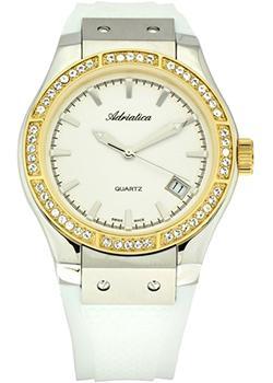 Швейцарские наручные  женские часы Adriatica 3209.2213QZ. Коллекция Zirconia