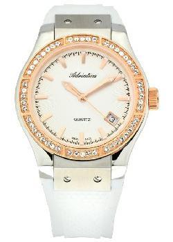 Швейцарские наручные  женские часы Adriatica 3209.R213QZ. Коллекция Zirconia