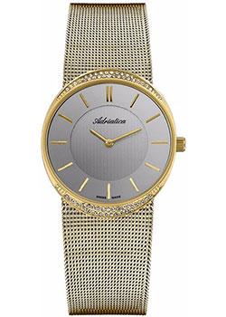 Швейцарские наручные  женские часы Adriatica 3406.1117QZ. Коллекция Bracelet