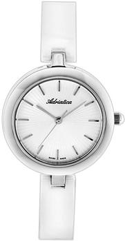 Швейцарские наручные  женские часы Adriatica 3411.C113Q. Коллекция Ceramic от Bestwatch.ru