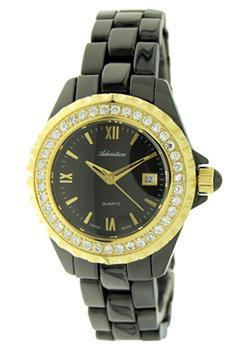 Швейцарские наручные  женские часы Adriatica 3413.F164QZ. Коллекция Ceramic
