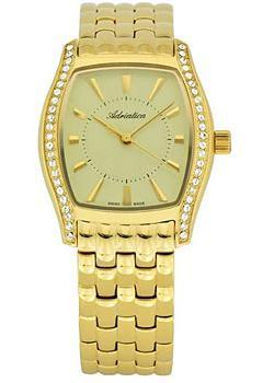 Швейцарские наручные  женские часы Adriatica 3417.1111QZ. Коллекция Ladies