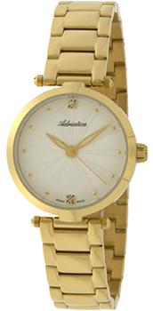 Швейцарские наручные  женские часы Adriatica 3423.1143Q. Коллекция Zirconia