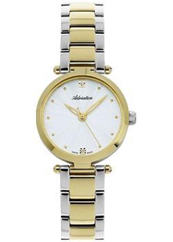 Швейцарские наручные  женские часы Adriatica 3423.2143Q. Коллекция Ladies