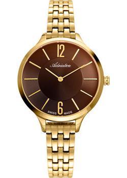 Швейцарские наручные  женские часы Adriatica 3433.117GQ. Коллекция Essence