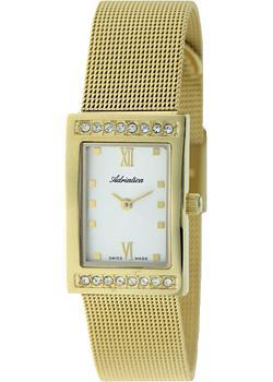 Швейцарские наручные  женские часы Adriatica 3441.1183QZ. Коллекция Zirconia