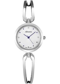 Швейцарские наручные  женские часы Adriatica 3506.51B3QZ. Коллекция Zirconia