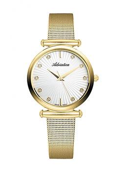 Швейцарские наручные  женские часы Adriatica 3518.1193Q. Коллекция Ladies