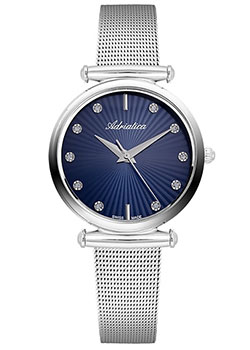 Швейцарские наручные  женские часы Adriatica 3518.5195Q. Коллекция Ladies
