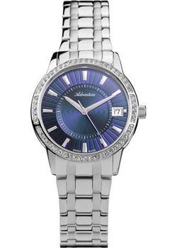 Швейцарские наручные  женские часы Adriatica 3602.5115QZ. Коллекция Zirconia