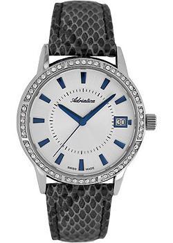 Швейцарские наручные  женские часы Adriatica 3602.52B3QZ. Коллекция Zirconia