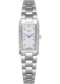Швейцарские наручные  женские часы Adriatica 3624.51B3QZ. Коллекция Zirconia