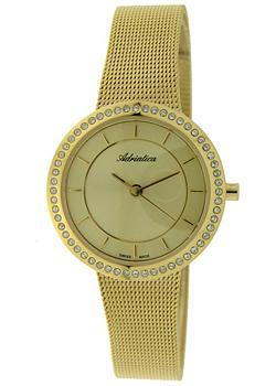 Швейцарские наручные  женские часы Adriatica 3645.1111QZ. Коллекция Zirconia