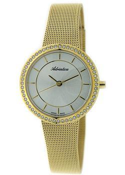 Швейцарские наручные  женские часы Adriatica 3645.1113QZ. Коллекция Zirconia