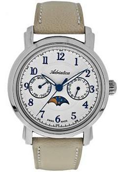 Швейцарские наручные  женские часы Adriatica 3677.52B3QF. Коллекция Multifunction