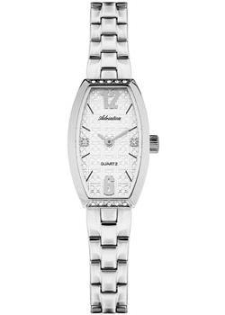Швейцарские наручные  женские часы Adriatica 3684.5173QZ. Коллекция Zirconia
