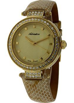 Швейцарские наручные  женские часы Adriatica 3692.1211QZ. Коллекция Zirconia