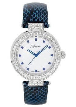 Швейцарские наручные  женские часы Adriatica 3692.52B3QZ. Коллекция Zirconia