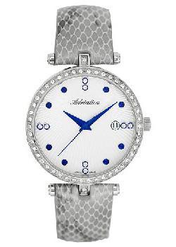 Швейцарские наручные  женские часы Adriatica 3695.52B3QZ. Коллекция Zirconia